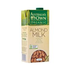Jual Australia S Own Organic Almond Milk Gluten Free Uht 1 Liter Murah