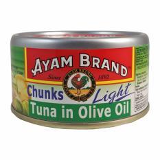 Ayam Brand Ikan Tuna Kalengan dalam Minyak Zaitun 185gr