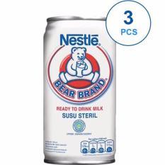 BORONG DONK - Bear Brand Susu Steril 189 ml - Ready To Drink Milk - 3