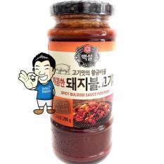 Harga Beksul Korean Bbq Sauce Spicy Bulgogi Marinade Saus Bumbu Pedas Bulgogi Bbq Korea 290G Termurah