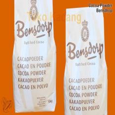 Bensdorp Pure Cocoa Powder Bensdrop Coklat Bubuk Murni 1Kg