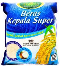 Review Beras Kepala Super Hotel 5 Kg Terbaru
