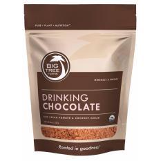 Spesifikasi Big Tree Farms Trura Raw Drinking Chocolate Minuman Coklat Bubuk Organic 250 Gr Bagus