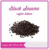 Harga Black Sesame Seeds L Wijen Hitam Mettamilk 1 Kg Original
