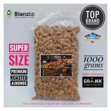 Spesifikasi Blue Diamond Kacang Almond Panggang Super 1000 Gram Baru
