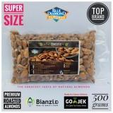 Review Blue Diamond Kacang Almond Panggang Super 500 Gram Dki Jakarta