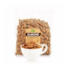 Harga Blue Diamond Natural Whole Raw Kacang Almond Mentah 500 G Seken