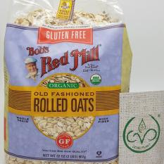 Dimana Beli Bobs Red Mill Organic Gluten Free Rolled Oat 907G Bobs Red Mill