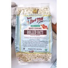 Naturesmarket.id - Bob's Red Mill Organic Quick Cooking Rolled Oats 907gr