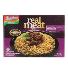 BORONG DONK - Indomie Real Meat Rasa Rendang 3 Bungkus / Mi Instan / Makanan Siap Saji / Bisa COD
