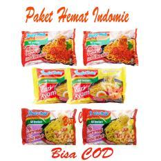 BORONG DONK - Paket Hemat Indomie 6 Bungkus - Indomie Kari Ayam - Indomie Sambal Rica-rica - Indomie Sambal Matah - Bisa COD