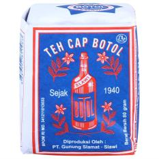 BORONG DONK - Teh Bubuk Cap Botol 3 Bungkus Isi @ 80 Gram / Bisa COD