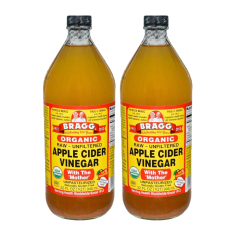 Bragg Apple Cider Vinegar 946 Ml Pack Of 2 By House Of Organix.