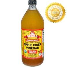 Jual Bragg Apple Cider Vinegar Acv Cuka Apel 946 Ml Bragg Ori