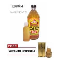 Bragg Apple Cider Vinegar Original (Cuka Apel) - share in jar 60ml + GRATIS