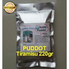 Bubble's Puddot Premix TIRAMISU 220Gr Puding Sedot Bubuk Powder Puddot Frizco Frisco Moiaa Puyo Silkpud