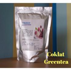 Bubuk Es Krim FRIZCO 500gr COKLAT dan GREENTEA (2pcs)