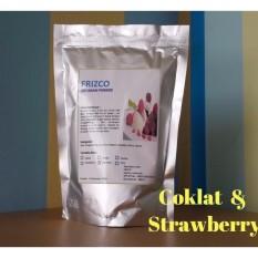 Bubuk Es Krim FRIZCO 500gr COKLAT dan STRAWBERRY (2pcs)