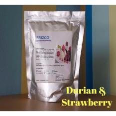 Bubuk Es Krim FRIZCO 500gr STRAWBERRY & DURIAN (2pcs)