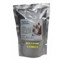 BUBUK ES KRIM FRIZCO VANILLA, PREMIX FRISCO HARD ICE CREAM POWDER 500 Gr