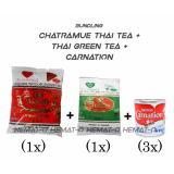 Berapa Harga Bundling C1 Chatramue Thai Tea Thai Green Tea Carnation Free Bublewrap Di Dki Jakarta