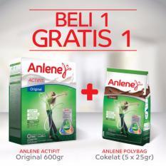 Toko Buy 1 Get 1 Anlene Actifit Original 600Gr Anlene Polybag Cokelat Anlene Di Indonesia