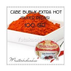 Cabe bubuk extra hot 100gr