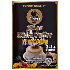 Caffein Hunter Fiber White Coffee 3In1 Murah
