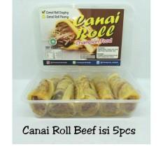 Canai Roll Beef Halal LP-POM MUI No. 03010017410617. By Champion Kebab