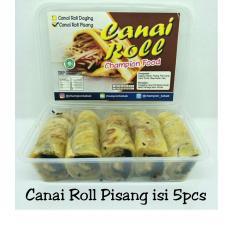 Canai Roll Pisang Halal LP-POM MUI No. 03010017410617 By. Champion Kebab