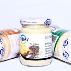 Cheesy Keju Olahan Rasa Lada Hitam  240 gr