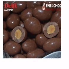 Coklat Delfi Kiloan Almond - 1 Kg