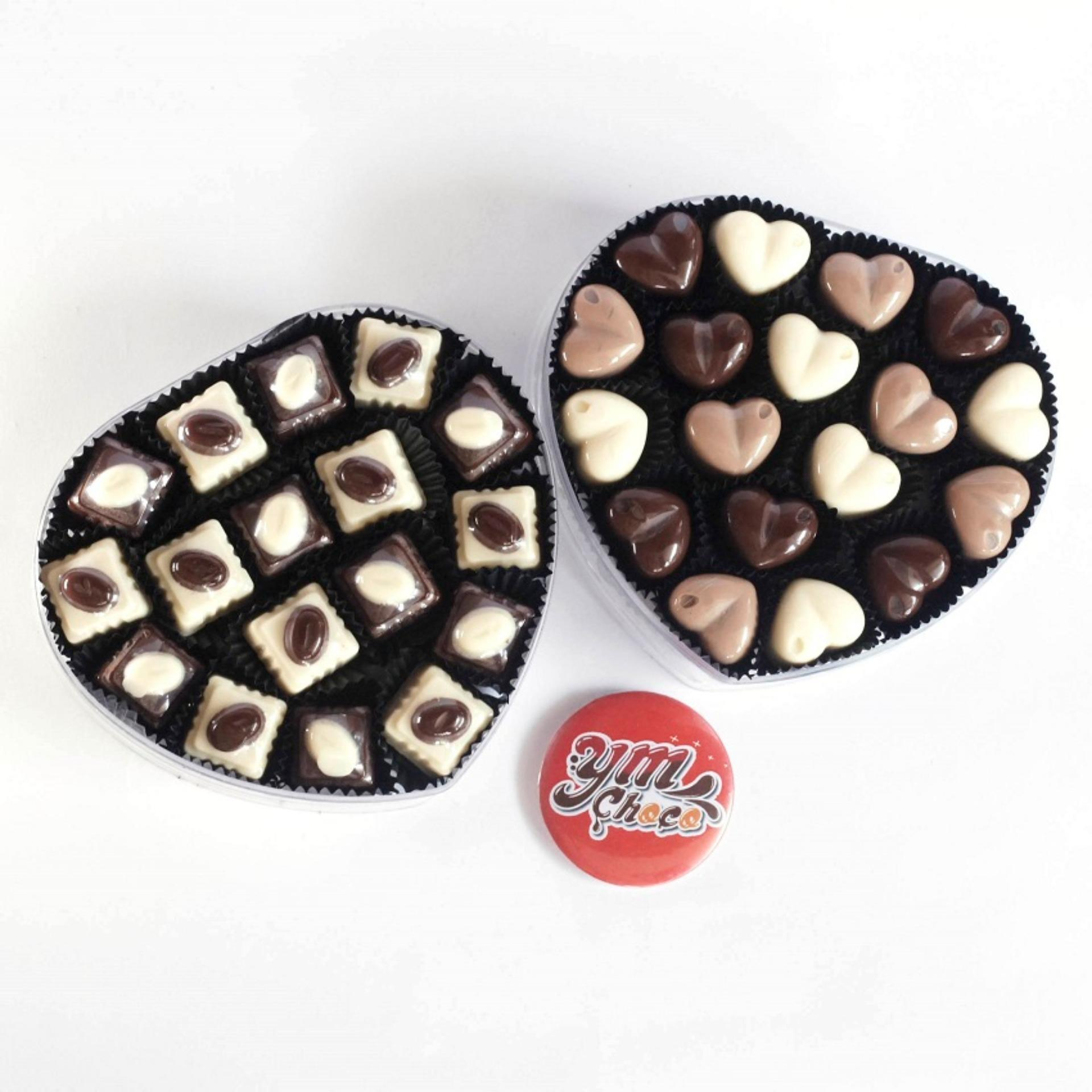 Pencarian Termurah YMFood Coklat Praline Kotak,Coklat Pralne Love harga penawaran - Hanya Rp80.556