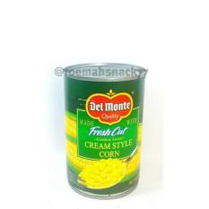 Cream Corn Dalam Kaleng Merk DEL MONTE 425Gr
