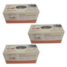 Dacoz Pia Crispy Coklat Kacang Kemasan Box - 3 x 330gr