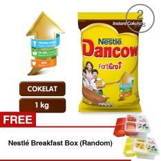 Spesifikasi Dancow Fortigro 1Kg Beli 2 Dapat Nestle Breakfast Box Yang Bagus Dan Murah