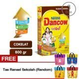 Harga Dancow Fortigro Cokelat 3X800G Gratis Tas Ransel Sekolah Random Branded