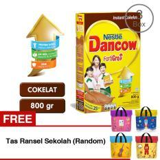 Jual Dancow Fortigro Cokelat 3X800G Gratis Tas Ransel Sekolah Random Online Jawa Barat