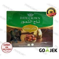 Perbandingan Harga Date Crown Kurma Khalas 1 Kg Date Crown Di Jawa Barat