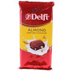 Delfi Dairy Milk Chocolate Almond 165 g