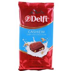 Delfi Dairy Milk Chocolate Cashew 165g