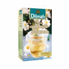 Toko Dilmah Pure Camomile Flowers Tea Teh Celup Kemasan Tag Tbag 20S Lengkap Dki Jakarta
