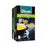 Jual Dilmah Pure Green Tea Teh Celup Kemasan Foil Envelope 20S Import