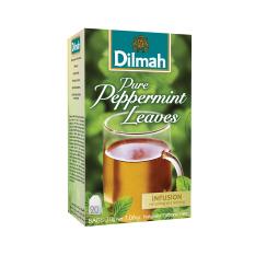 Dilmah Pure Peppermint Leaves Tea Teh Celup Kemasan Tag Tbag 20S Dilmah Diskon 50
