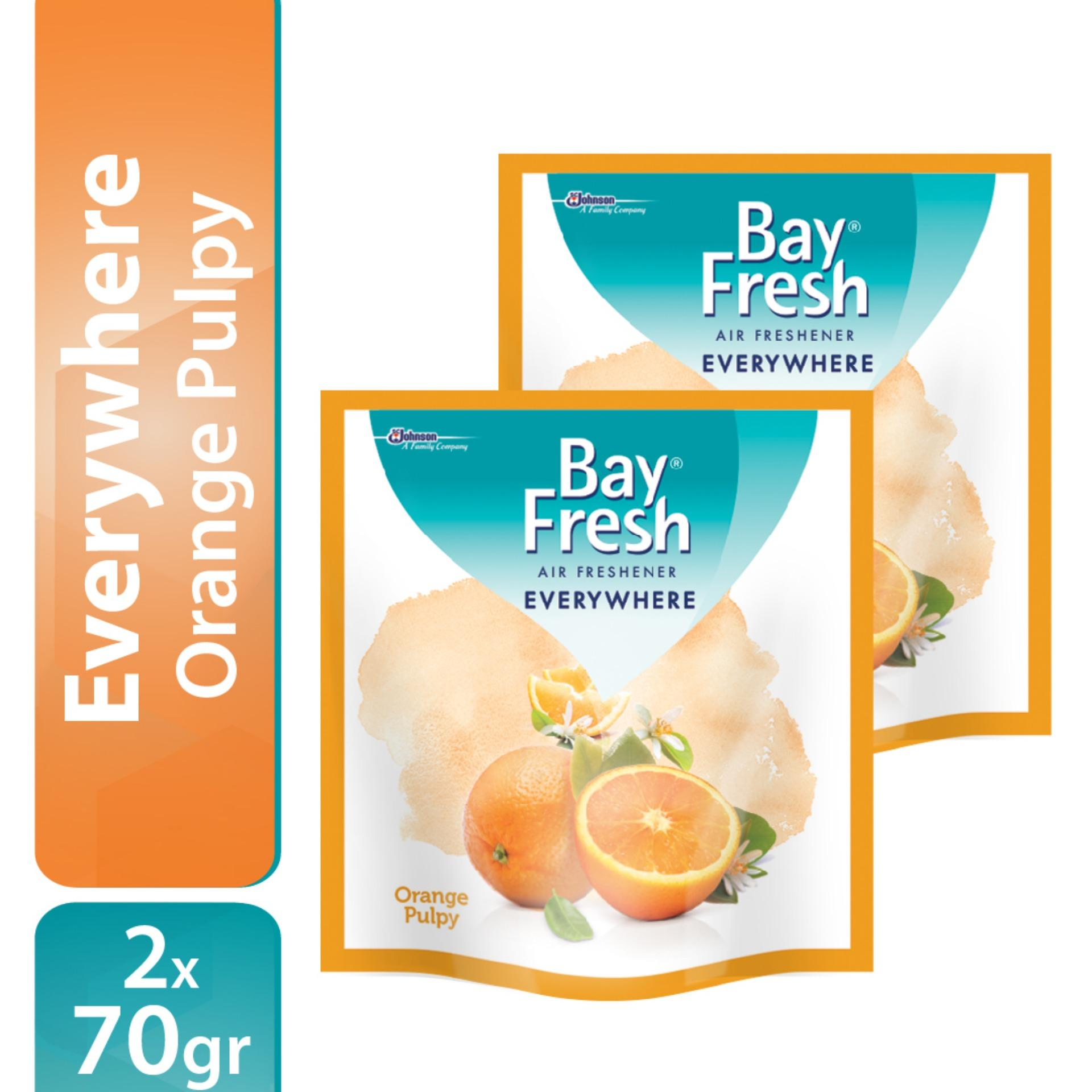 [Double Pack] Bayfresh Everywhere Orange 70gr x 2pcs