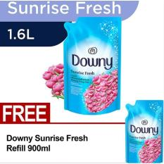 Harga Downy Sunrise Fresh Refill 1 6L Gratis Downy Sunrise Fresh Refill 900Ml Downy