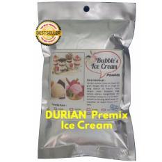 Durian Premix Ice Cream 250gr Frizco Bubbles Bulky Instant Powder, Bahan Bubuk Es Krim Frizco Duren Gitabali By Gitabali.