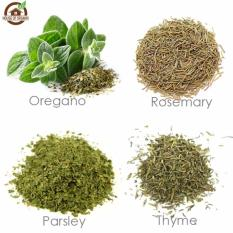 Essential Herb Pack / Paket ( Oregano , Thyme , Parsley , Rosemary )