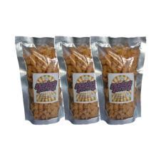 Gandum Goreng Keju - Cemilan - Paket 3pcs x 100gr