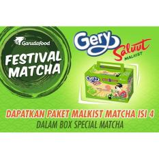 Gery Saluut Malkist Green Tea - 110g Isi 4 (MACA2) - P1